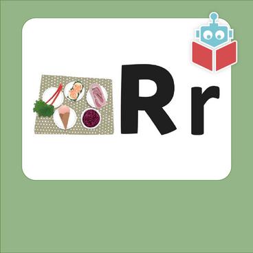 Alfabetrim med r