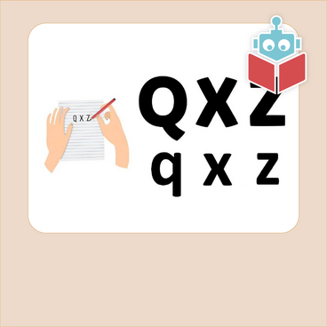 Alfabetrim med q, x og z