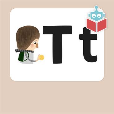 Alfabetrim med t