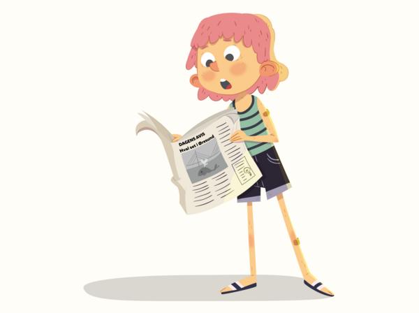 Du kan blive overrasket, når du læser en spændende nyhed.